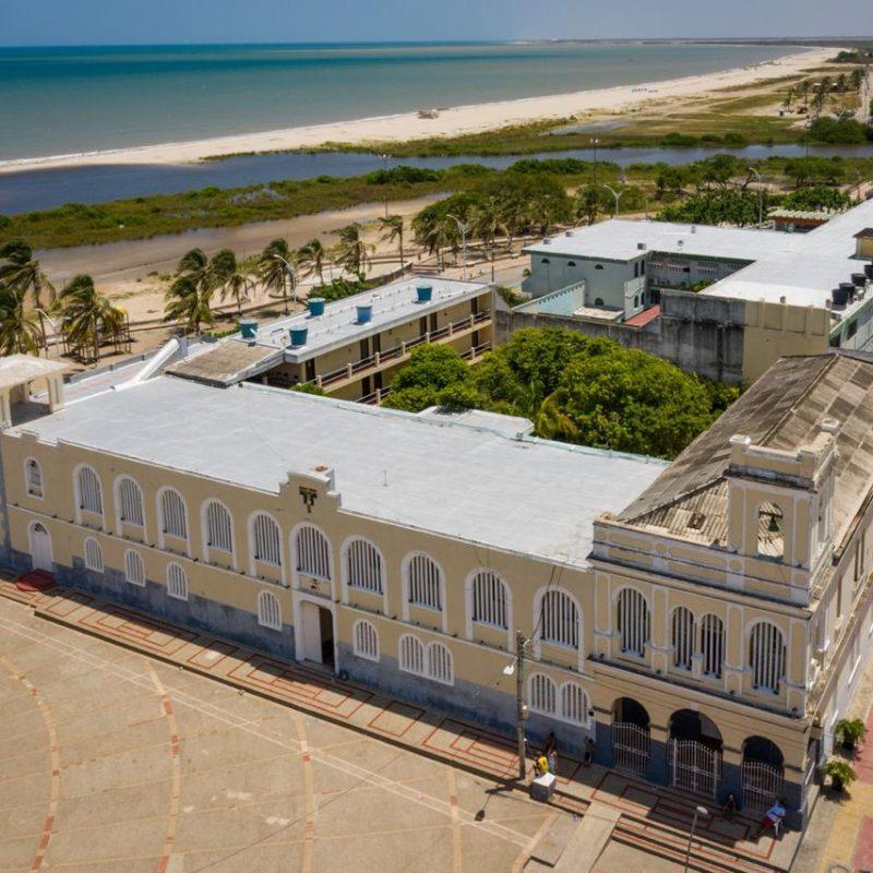 foto aerea casa de Riohacha